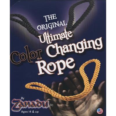 Amazing Color Changing Rope (Black/Yellow) - Zanadu