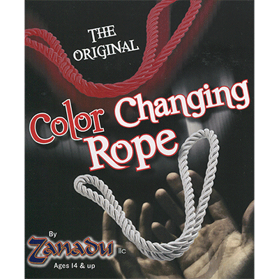 Amazing Color Changing Rope (Red/White) - Zanadu