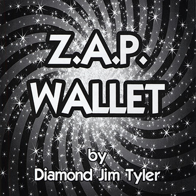 Z.A.P. Wallet (BLACK) by Diamond Jim Tyler - Trick
