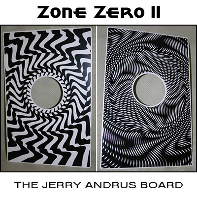 Zone Zero II Printed Board (w/ DVD) by Jerry Andrus - Trick