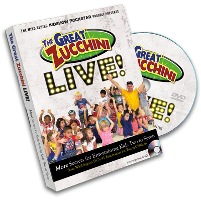 The Great Zucchini Live! by Eric Knaus - DVD
