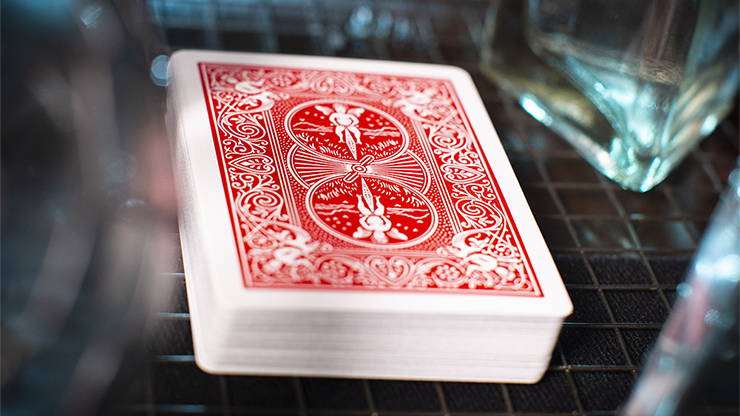 marked deck ultimate bicycle markierte kartentrick karten rot trick zauberbox