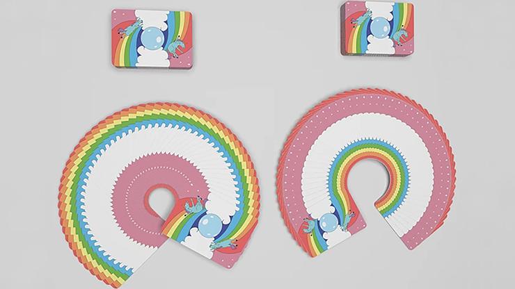 Carti de joc Rainbow Unicorn Fun Time!