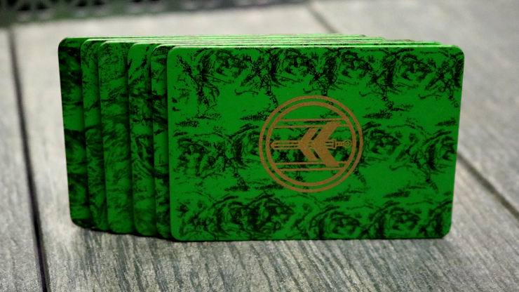 FIBER BOARDS Cardistry Trainers (Emerald Green)