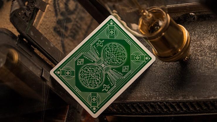Carti de joc Green National