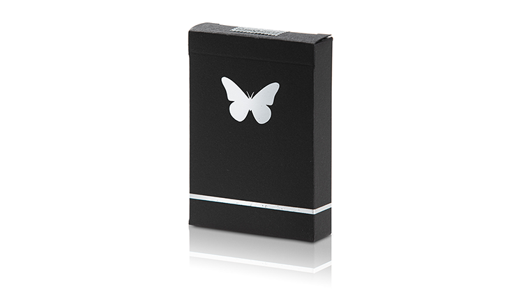 Carti de joc Limited Edition Butterfly Marked (Black and Silver)