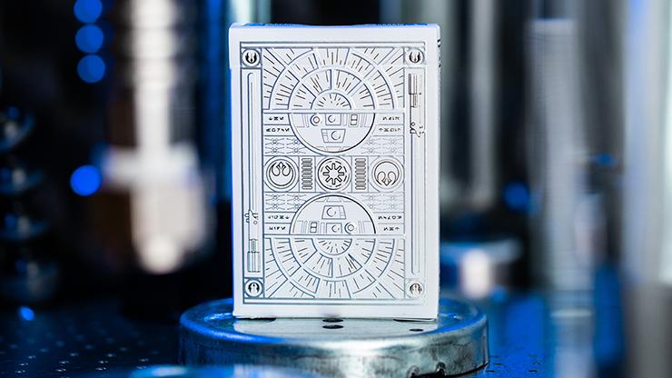 Carti de joc Star Wars Light Side Silver Edition (White)