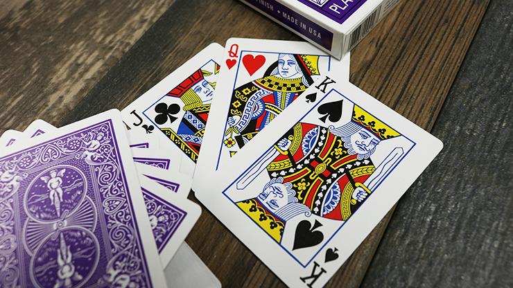 Carti de joc Bicycle Purple