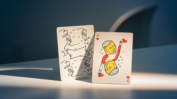 Carti de joc Shantell Martin (White)