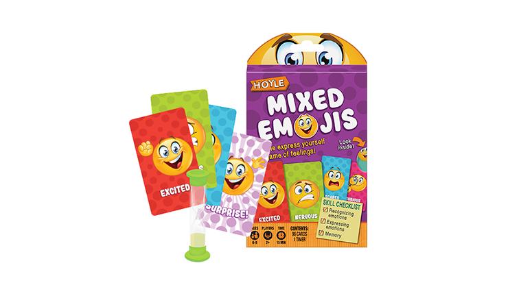 Carti de joc Hoyle Mixed Emojis