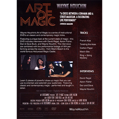 Art of Magic by Wayne Houchin - DVD - Murphy's Magic