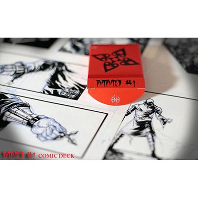 Carti de joc MMD#1 Comic Deck