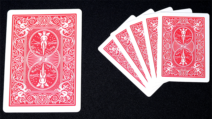 Mini Bicycle Cards (Red)