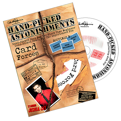 Paul Harris Presents Hand-picked Astonishments (Card Forces) by Paul Harris and Joshua Jay - DVD