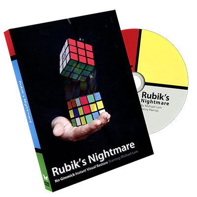 Rubik's Nightmare by Michael Lam and SansMinds Magic - DVD