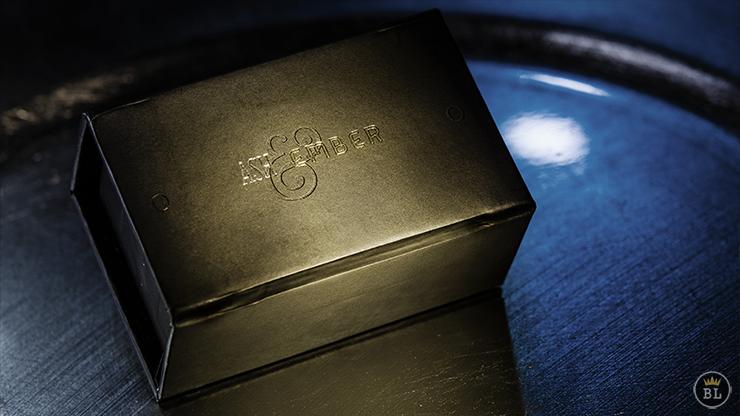 Ash and Ember Gold Beveled Size... MagicWorld Magic Shop