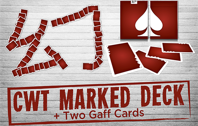 CWT Marked Deck by CHUANG WEI TUNG... MagicWorld Magic Shop