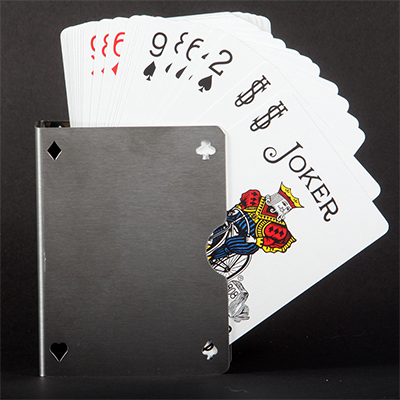 Card Guard Stainless (Perforated)... MagicWorld Magic Shop