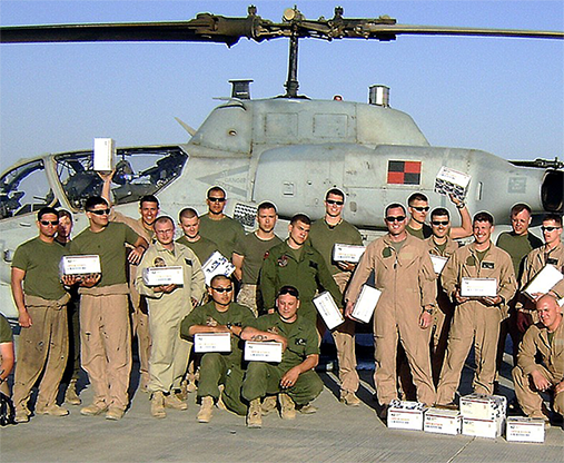 MILITARY HEROES: BRONZE Care Package... MagicWorld Magic Shop