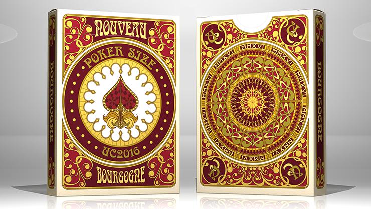 Bourgogne Playing Cards - United... MagicWorld Magic Shop