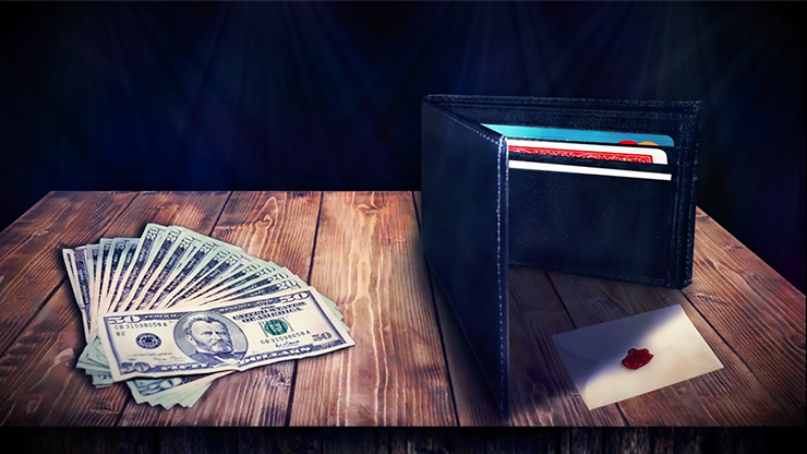 Alakazam Presents Hideout V2 Wallet... MagicWorld Magic Shop