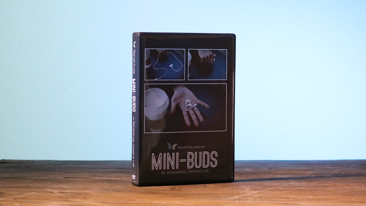 Mini-Bud (DVD and Gimmick) by SansMinds... MagicWorld Magic Shop