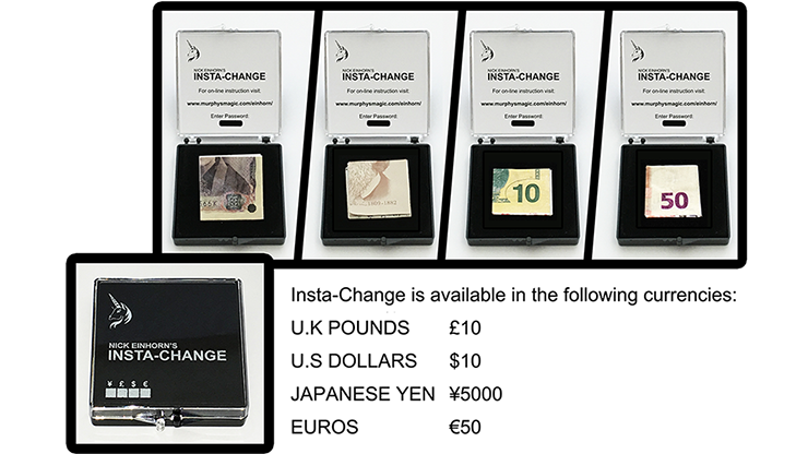 Insta-Change (Pound) by Nicholas... MagicWorld Magic Shop