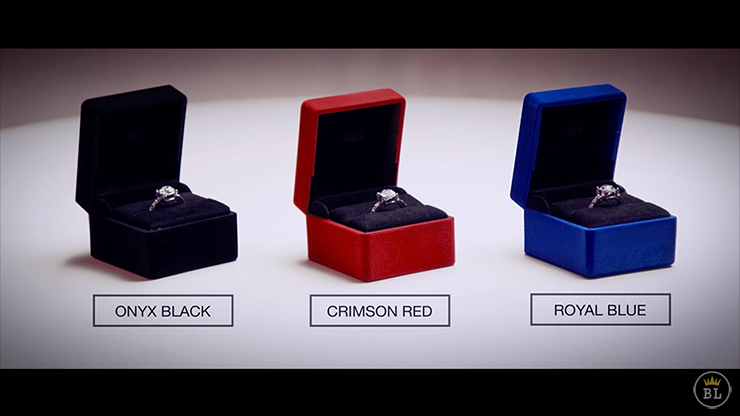Vanishing Ring Black (Gimmick and... MagicWorld Magic Shop