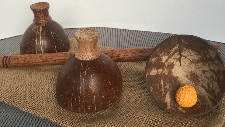 Cheppum Panthum Coconut Shell Cups... MagicWorld Magic Shop