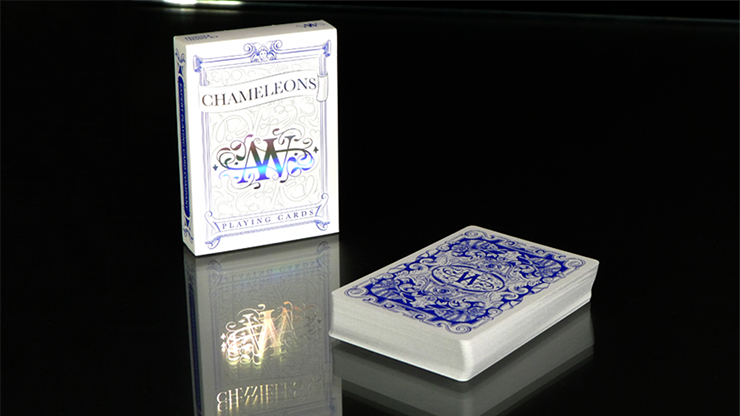 Chameleon Playing Cards (Blue)... MagicWorld Magic Shop
