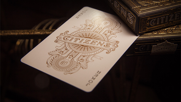 Citizen Playing Cards by Theory... MagicWorld Magic Shop