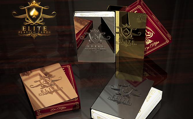 Elite Card Clip (Black Diamond) MagicWorld Magic Shop
