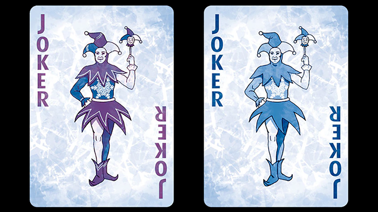 Bicycle Frost Playing Cards by... MagicWorld Magic Shop