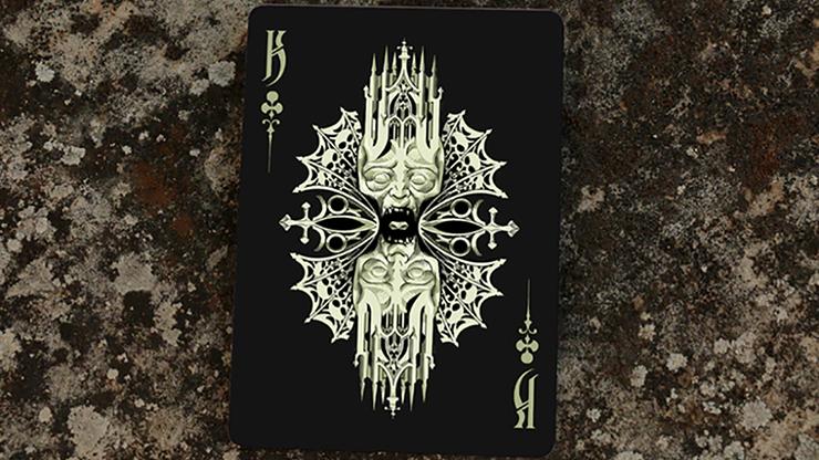 Grotesk Macabre Playing Cards (Black... MagicWorld Magic Shop