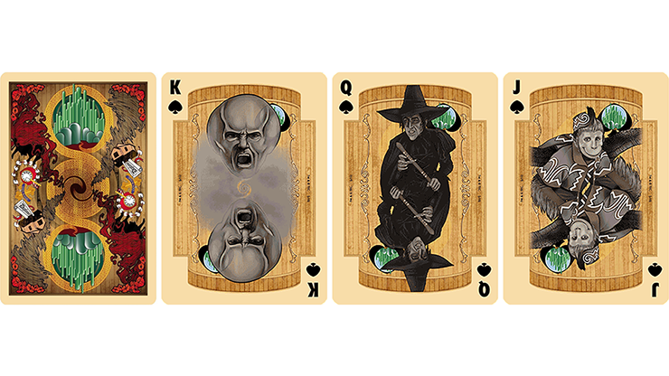 The Wizard of Oz Playing Cards MagicWorld Magic Shop