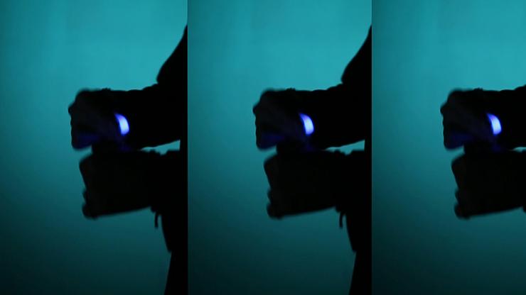 Rocco's Prisma Lites Pair (Blue)... MagicWorld Magic Shop