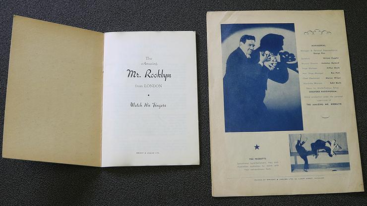 Mr. Rooklyn Souvenir Book (Rare/OOP)... MagicWorld Magic Shop