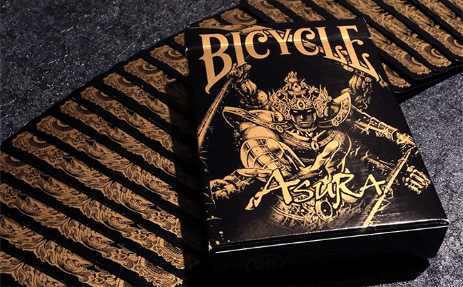 Bicycle Asura Black/Gold Playing... MagicWorld Magic Shop