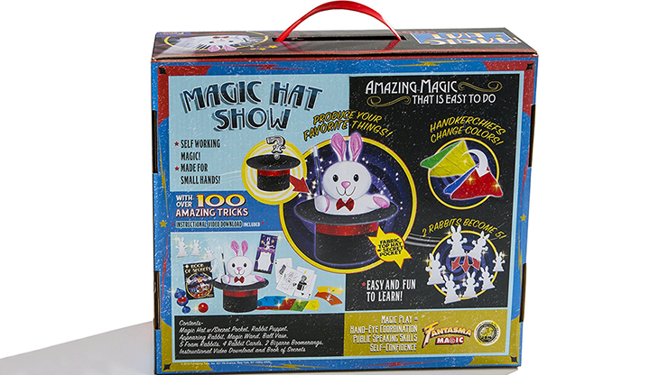 Magic Hat Show by Fantasma Magic... MagicWorld Magic Shop