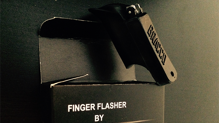 Finger Flasher (Black) by Jeremy... MagicWorld Magic Shop