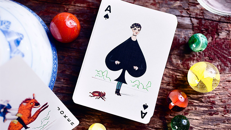 Odd Bods Playing Cards by Jonathan... MagicWorld Magic Shop