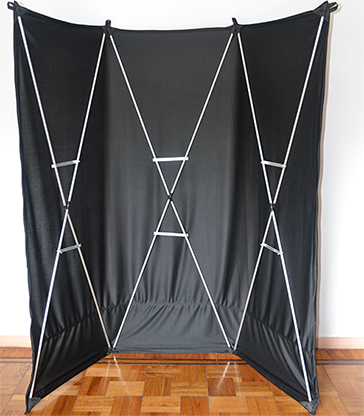 Lightweight Stage Curtain (Black)... MagicWorld Magic Shop
