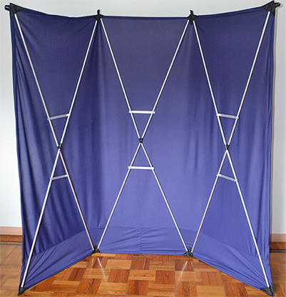 Lightweight Stage Curtain (Blue)... MagicWorld Magic Shop