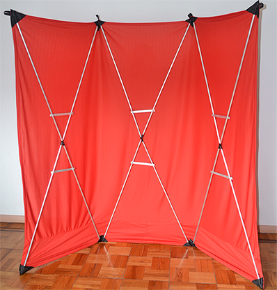 Lightweight Stage Curtain (Red)... MagicWorld Magic Shop