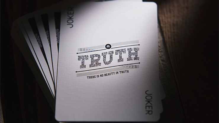 Truth Playing Cards (Lies are Convenient) MagicWorld Magic Shop