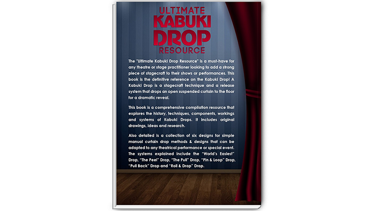 Ultimate Kabuki Drop Resource by JC Sum - Book