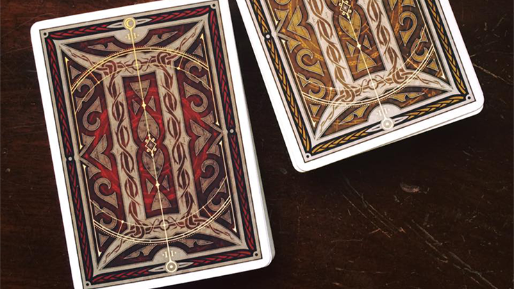 Gemini Ignis Playing Cards by Stockholm17 MagicWorld Magic Shop