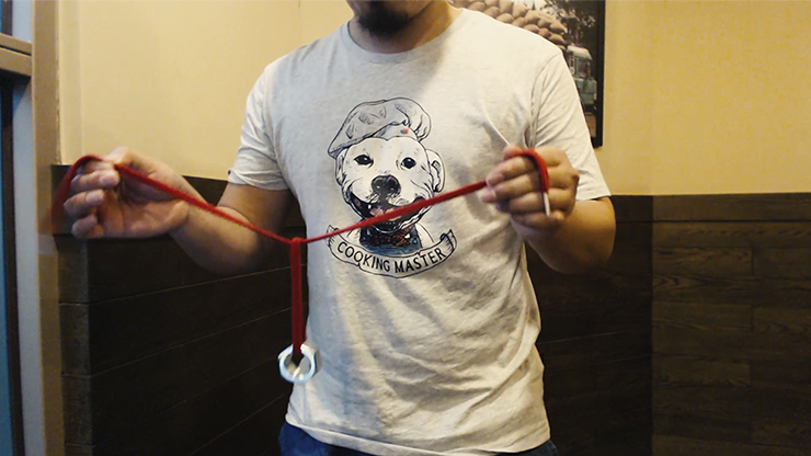 Muse Rope (Red) by Sean Yen - Trick MagicWorld Magic Shop