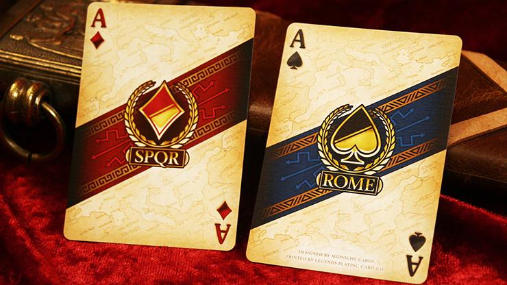 Rome Playing Cards (Caesar Edition)... MagicWorld Magic Shop