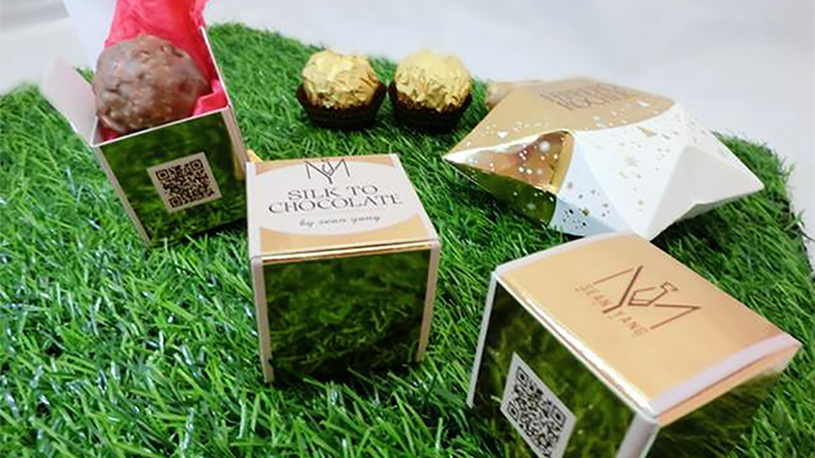 Silk to Chocolate (Ferrero Rocher)... MagicWorld Magic Shop